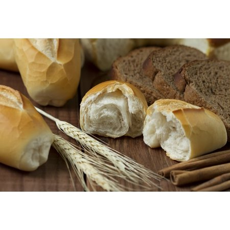 Laminated Poster Homemade The Bakery White Bread Gourmet Food Poster Print 24 x 36