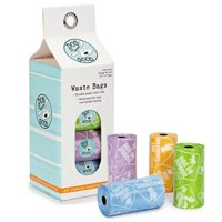 Dog Is Good Potty Talk Waste Bags 8 Ct Assorted