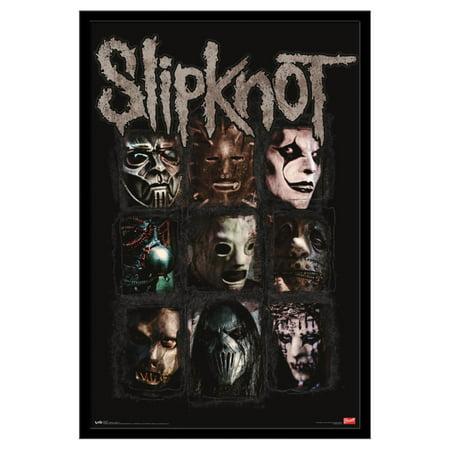 Trends International Slipknot Masks Wall Poster 22.375
