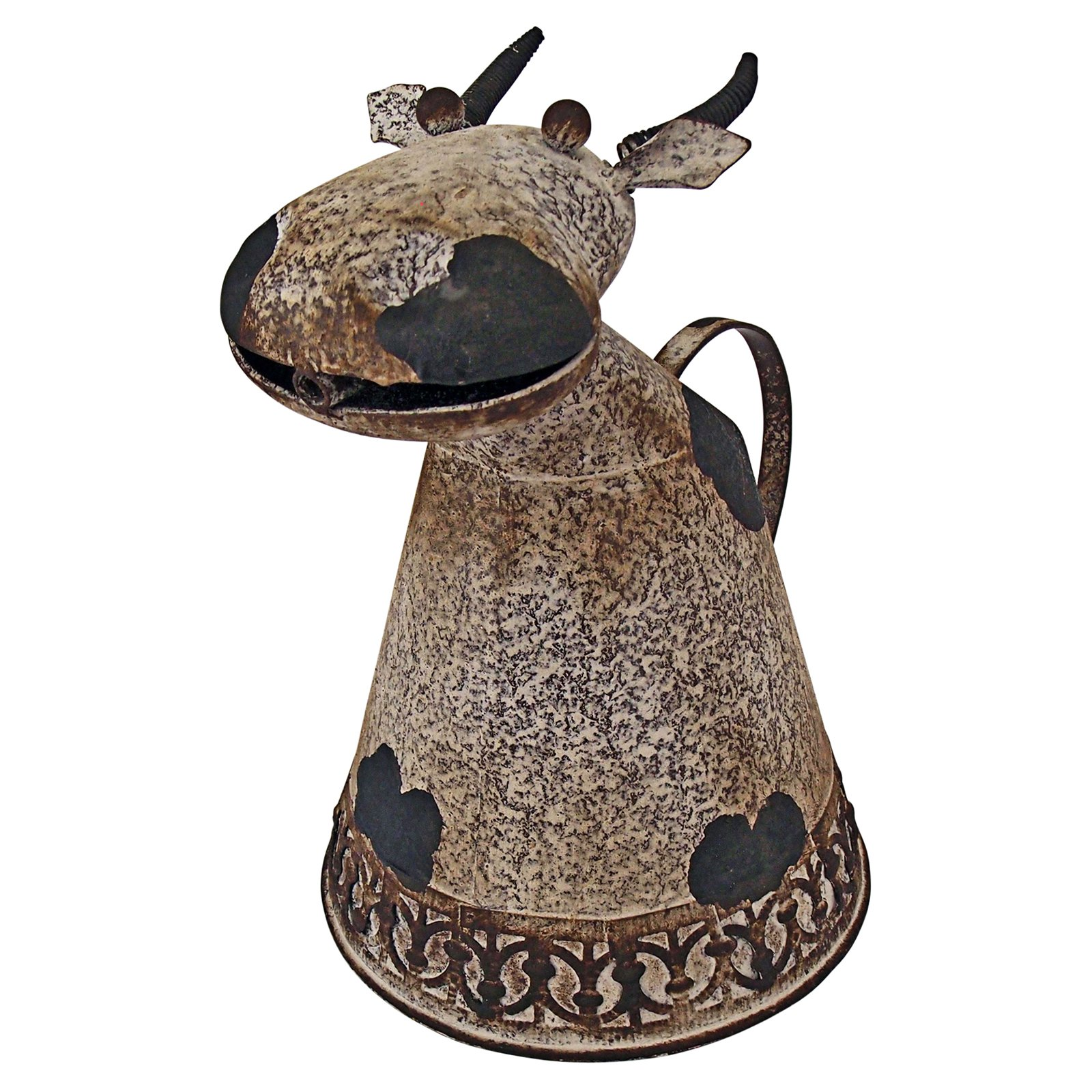 Animal Aquifers Metal Cow Watering Can Design Toscano Animal  Cow  Moo  Bovine