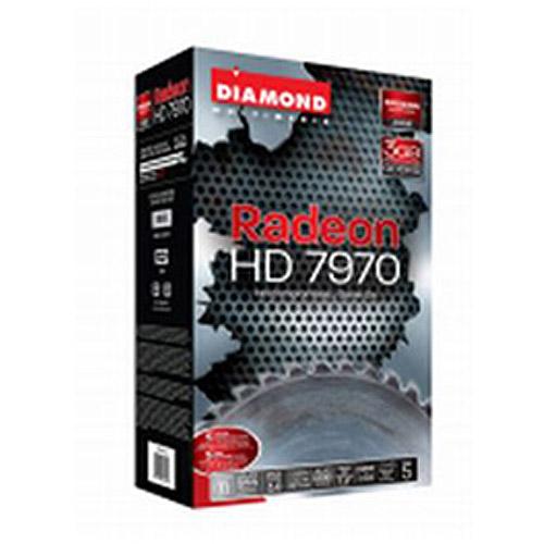 Diamond Multimedia ATI Radeon HD 7970 3GB GDDR5 PCI E 3.0 Graphics Card