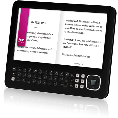 """Ematic eGlide Reader Pro with Wi-Fi 7"""" Tablet PC Featuring Android 2.1 Operating System"""