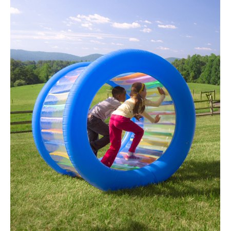 Roll With It™ Giant Inflatable Colorful Wheel for Kids Outdoor Active Play