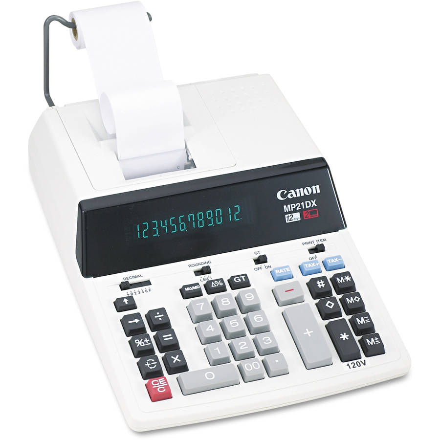 Canon MP21DX Printing Calculator