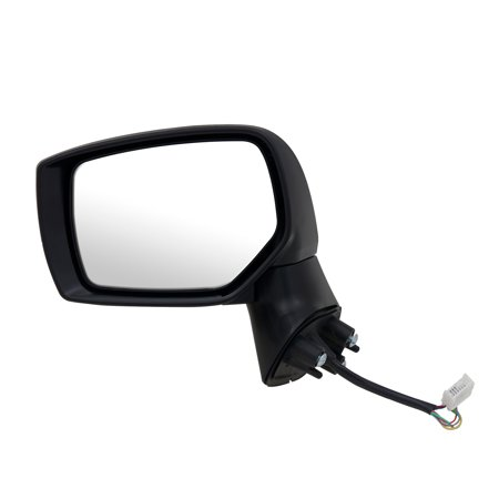 - 71526U - Fit System Driver Side Mirror for 15-17 Subaru Outback/ Legacy, textured black w/ PTM cover, foldaway, w/o blind spot detection, w/o chrome trim level, Heated Power