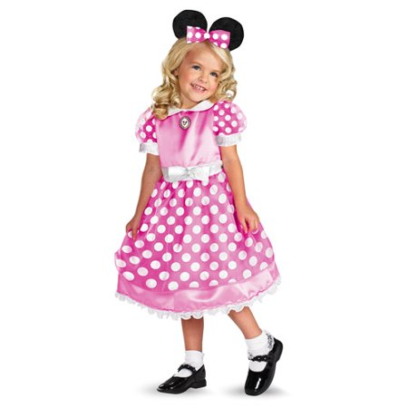 Pink Minnie Mouse Toddler Halloween Costume for $<!---->