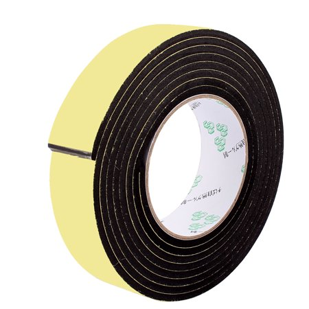 3.5CM Width 3 Meters Long 4MM Thick Single Sided Seal Shockproof EVA Sponge Tape