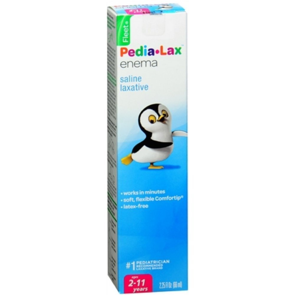 Pedia-Lax Enema For Children For Ages 2 To 11 Years, Pack...