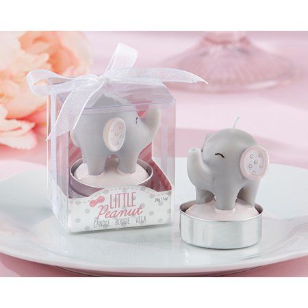 Little Peanut Elephant-Shaped Candle (Set of - Elephant Candles