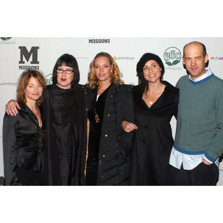 Jodie Foster Katherine Dieckmann Uma Thurman Minnie Driver Anthony Edwards At Arrivals For Motherhood Premiere After Party At Sundance Film Festival Greenhouse At The Sky Lodge Park City Ut January 21