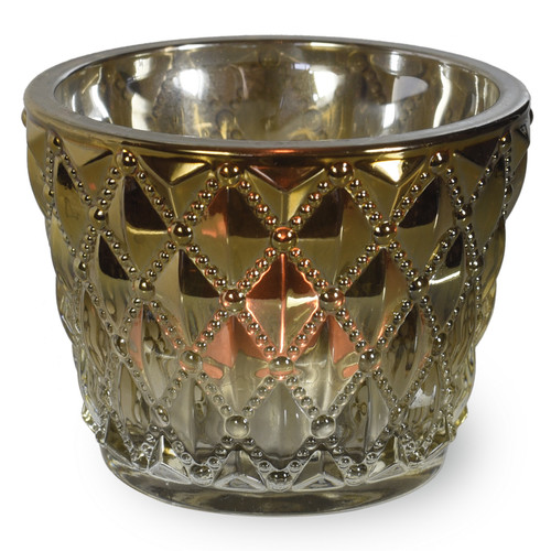 Bloomsbury Market Modern Glass Votive (Set of 3)