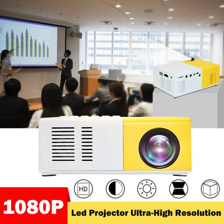 Mini Projector Portable 1080P LED Projector Home Cinema Theater Indoor/Outdoor Movie projectors...