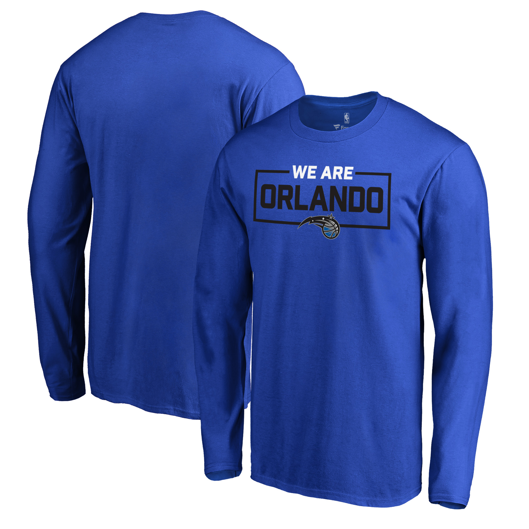 Orlando Magic Fanatics Branded We Are Iconic Collection Long Sleeve T-Shirt - Blue