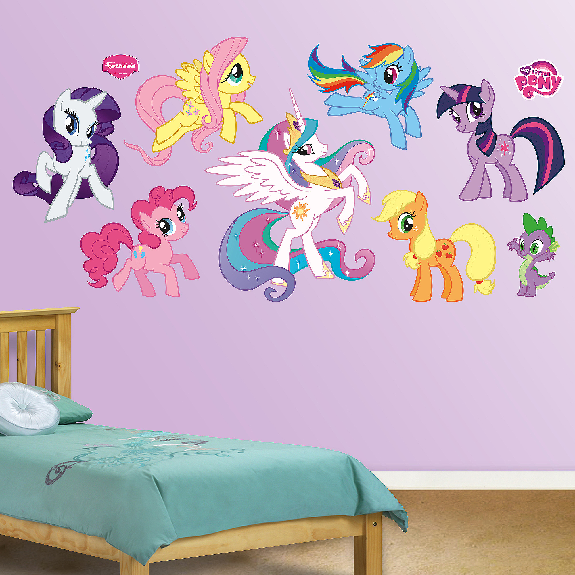 My Little Pony Collection Wall Graphic