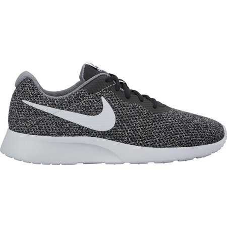 Men's Nike Tanjun SE Shoe, Black/Pure Platinum-Cool Grey, 7.5