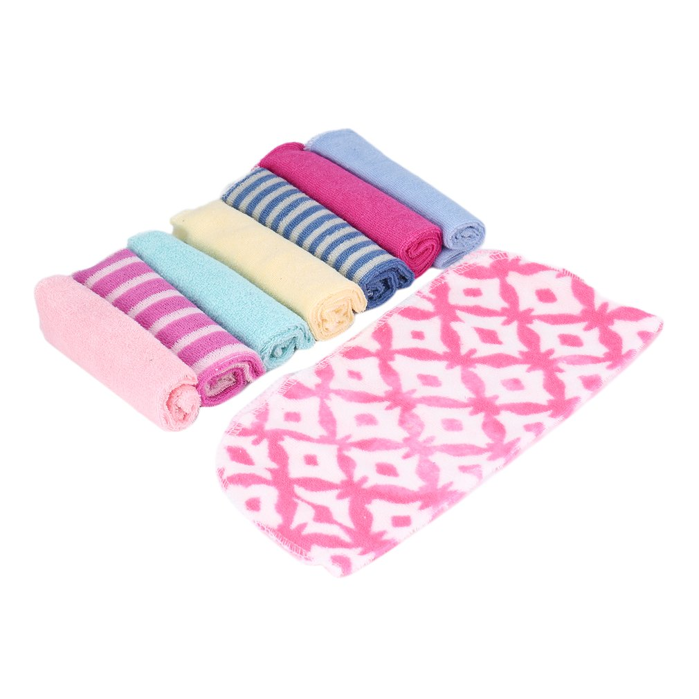 Soft Infant Natural Cotton Wipe Cloth Washcloth Bath Towel