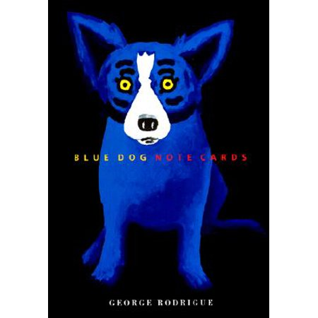 Blue Dog - Note Cards