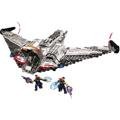 Halo UNSC Shortsword Bomber Set Mega Bloks 96835 by Mega Brands