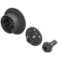 ARRMA Diff Case 49T Main Gear 17T Input Gear Set, ARAC4025