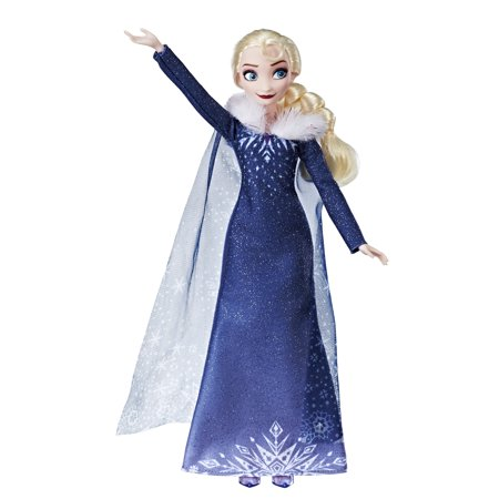 Disney Frozen Olaf's Frozen Adventure Elsa Doll (Elsa Dress From Frozen Movie)