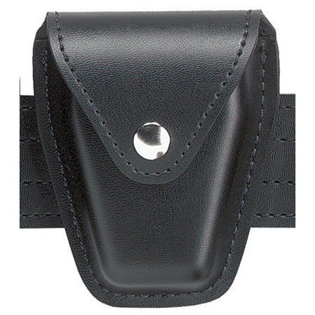 Safariland 190H Handcuff Pouch, Top Flap, for Standard Hinged Handcuffs 190-22PBL - 190-22PBL - Safariland