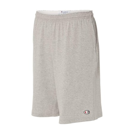 "Best Champion Athletics 9"" Inseam Cotton Jersey Shorts with Pockets 8180 deal"
