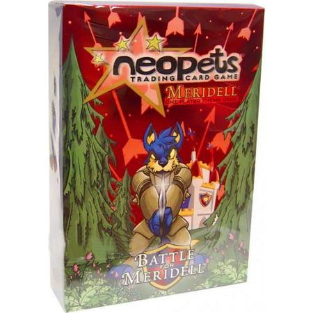 Neopets Battle for Meridell Meridell Theme Deck ()