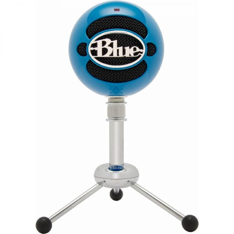 Blue Microphones Snowball Microphone Gloss Black Recording Microphone