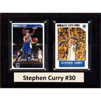 C&I Collectables NBA 6x8 Stephen Curry Golden State Warriors 2-Card Plaque