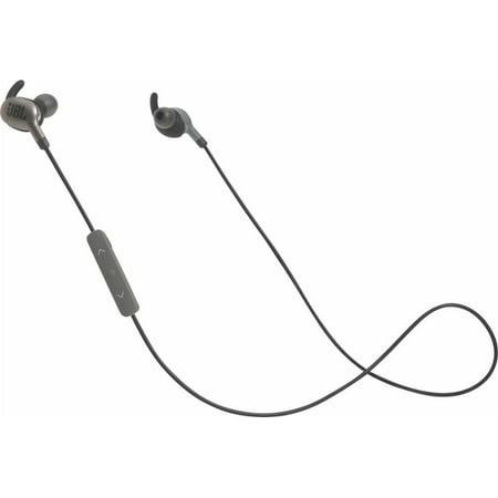 JBL Everest 110 Wireless In-Ear Headphones with In-Line Remote and Mic (Gunmetal) Jbl In Ear Headphones