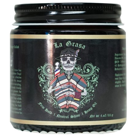 Grim Grease La Graza Water Based Gel-Type Pomade