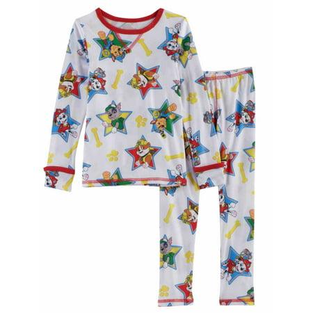 Cuddl Duds Toddler Boys Silky Paw Patrol Long John Underwear Base Layer 2T-3T - Digital Duds
