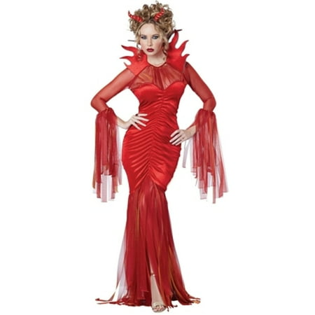 devilish diva costume california costume collections 01581 red](Devilish Eggs Halloween)