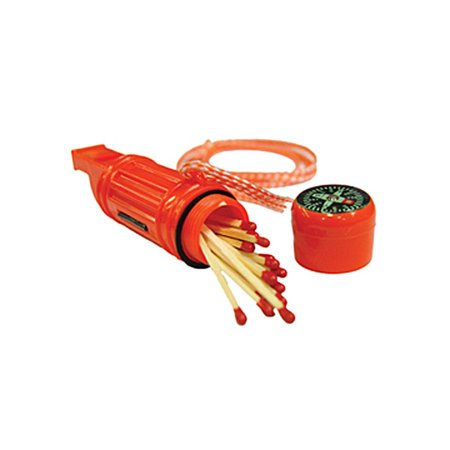 UST Brands 5-in-1 Survival Tool, Orange