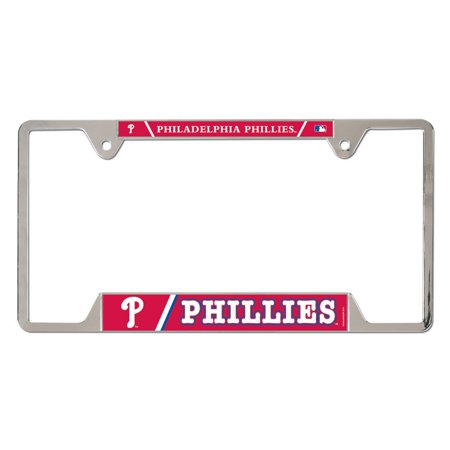 Philadelphia Phillies WinCraft Metal License Plate Frame - No Size