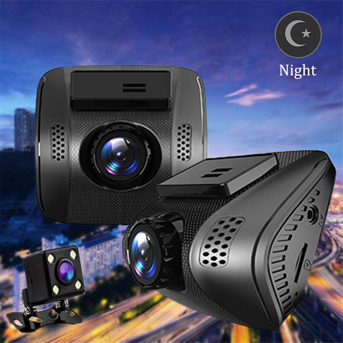 NT96688 Core  Wide angle 170 °  Wifi HD 1080P Hidden Car DVR Video Camera