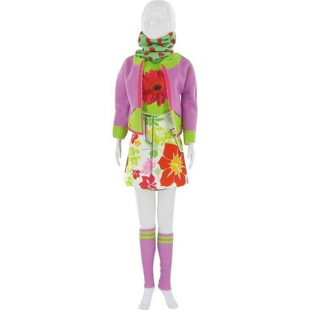 Dress Your Doll Making Couture Outfit Set, Candy Flower