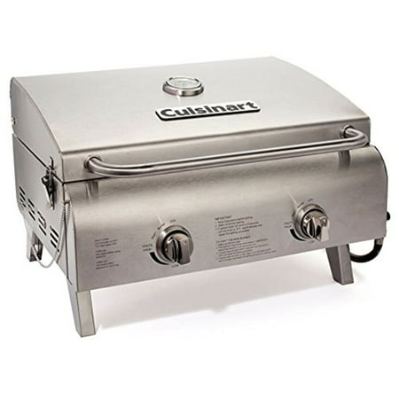 Cuisinart CGG-306 Chef's Style Stainless Tabletop (Smoke Hollow Stainless Steel Tabletop Propane Grill)