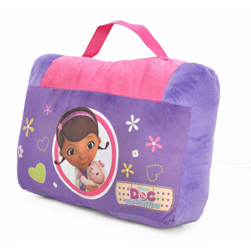 Doc McStuffins On-The-Go Pillow and Slumber Bag Set