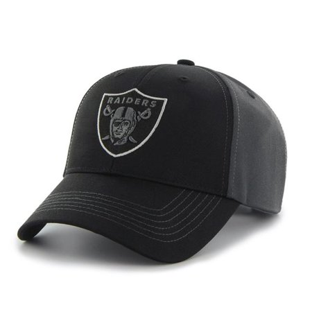 e913abee4968ad NFL Oakland Raiders Mass Blackball Cap - Fan Favorite - Walmart.com