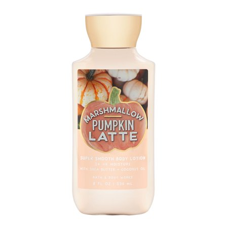 Bath & Body Works Marshmallow Pumpkin Latte 8.0 oz 24 Hr Moisture Body (Bath And Body Works Merry Marshmallow Kiss Lotion)