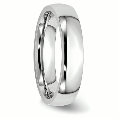 Cobalt 5mm Wedding Ring Band Size 12.50 Classic Domed Fashion Jewelry Gifts For Women For Her - image 5 de 10