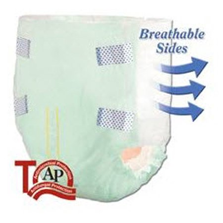 Tranquility Select Absorbent Underwear  Disposable  Xxl  62  To 80  Waist  Bag Of 12