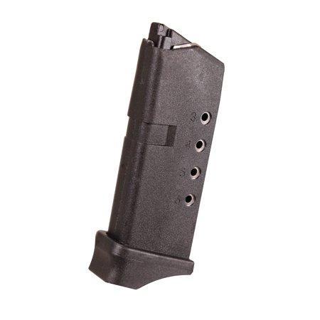 ProMag Glock Magazine Model 43, 9mm, 6 Rounds, Black (Glock 17 Magazine)