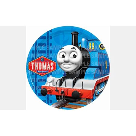 Thomas The Train Birthday Edible Frosting Image Cake Topper 8 Round