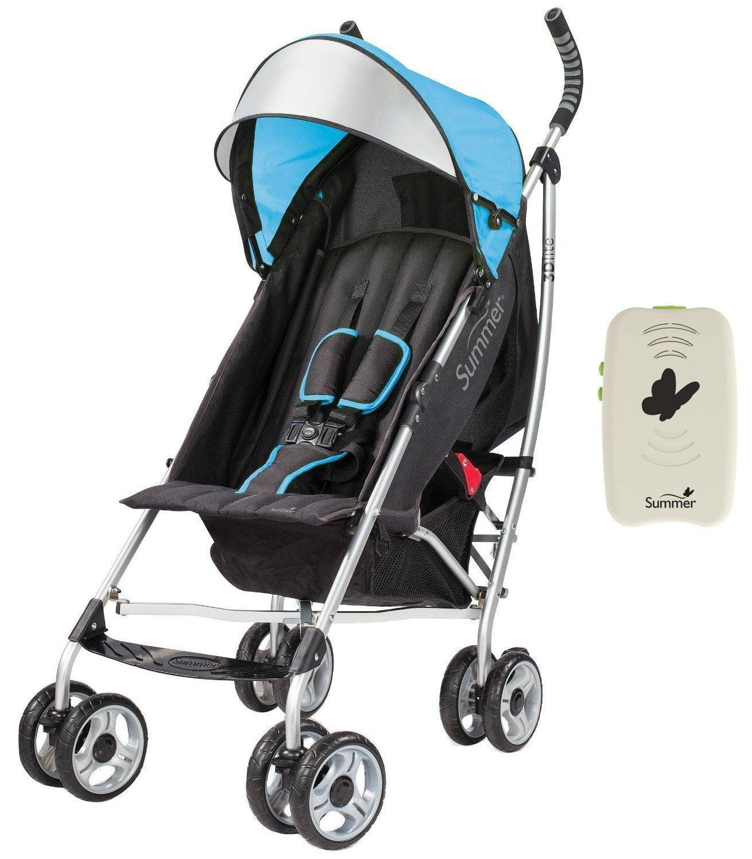Coche Para Bebe Azul verano bebé cochecito de conveniencia Lite 3D con chupete Portable, + Summer en Veo y Compro