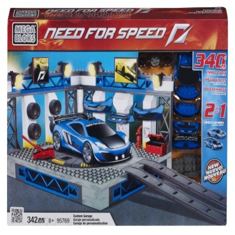 Mega Bloks Need for Speed Custom Garage (McLaren)