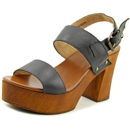 Musse   Cloud Leiza Women  Open Toe Leather  Platform Sandal