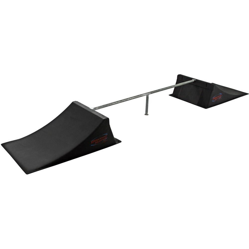Discount Ramps Skateboard BMX Ramp 'n Grind Rail