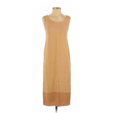 Pre-Owned DKNY Women's Size 4 Casual Dress Retro Print Silk Shift Dress